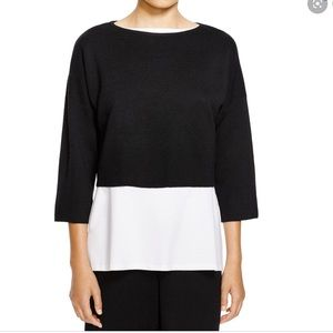 Eileen Fisher The Fisher Project | Cropped Blouse
